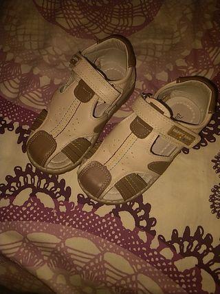 sandalias de piel talla 25