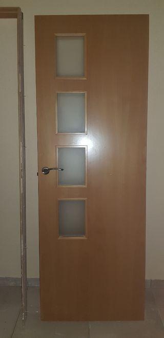 Puerta interior de maciza