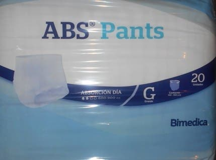 Pañales Adultos ABS PANTS Noche