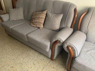 Sofá restaurado