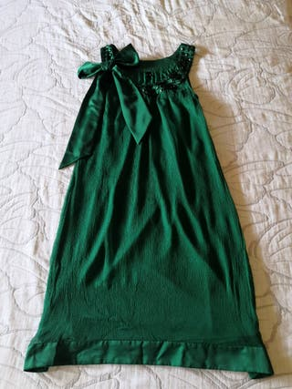 Vestido fiesta verde VERO MODA