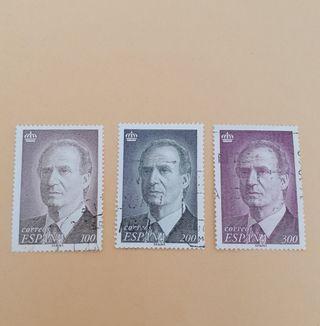 lote sellos Juan Carlos I