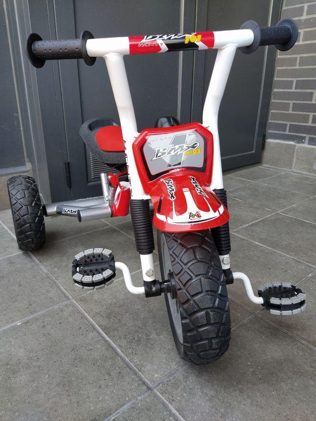 Triciclo Monty Bmx kids 101