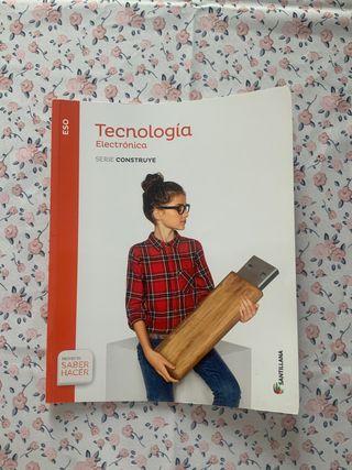 Libro Tecnología Electrónica ESO Santillana