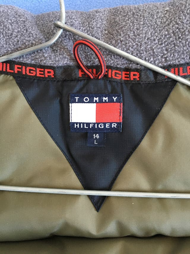 Chaleco Plumas Tommy Hilfiger