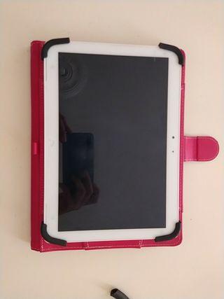 tablet bq + funda teclado