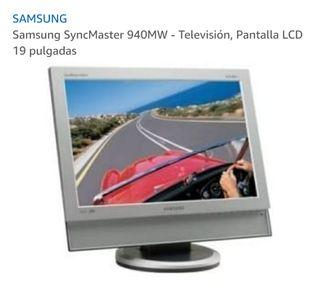 """Pantalla Samsung de 19"""" para ordenador y TV"""