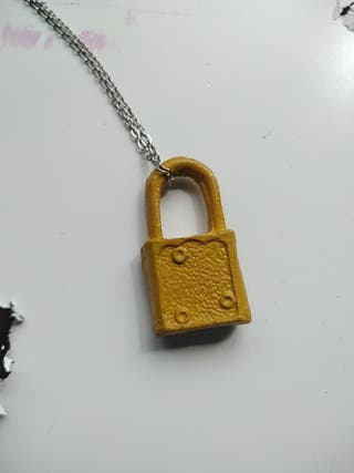 mustard yellow key lock