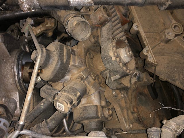 Despiece motor cdya Audi 3.0tdi