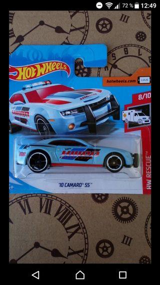 '10 Camaro SS highway patrol blue