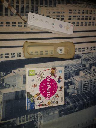 Mando de Wii + Funda+ Wii Party