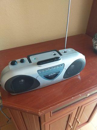 mini componente Philip radio / cassette