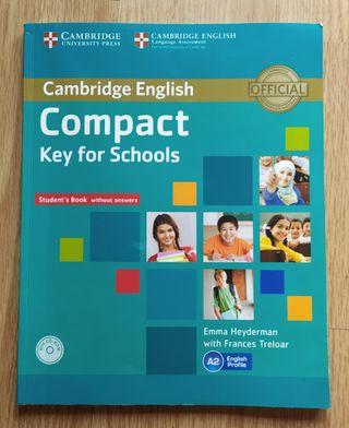 Libro de Ingles Compact Key for Schools.