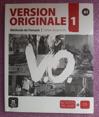 Version Originale 1-Cahier d'exercises (francés)