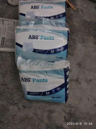 Pañales absorbentes adultos