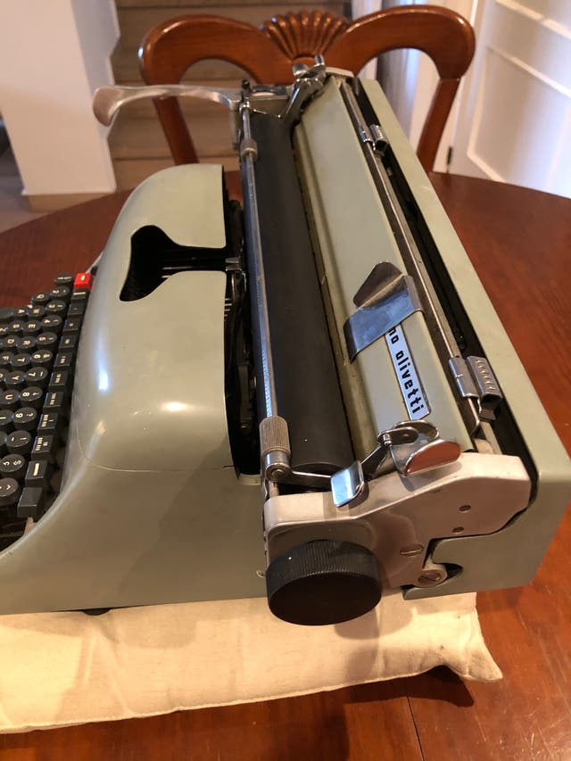 Máquina de escribir Hispano Olivetti Lexicon 80