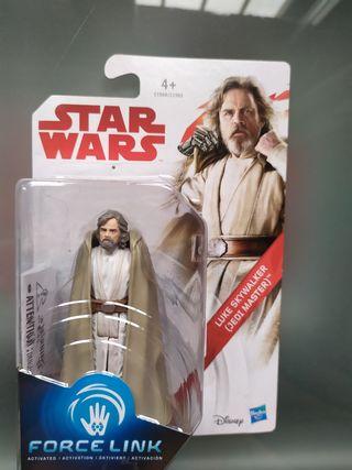 Figura Star Wars Luke Skywalker Force Link Hasbro