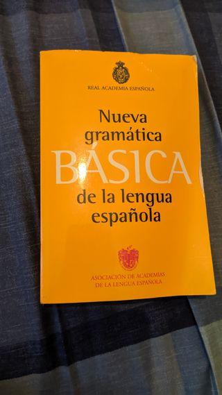 Libro de gramática de Lengua 1 bachillerato