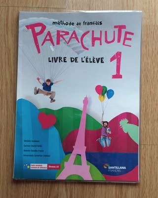 Libro de Francés Parachute Livre de L'éléve 1°ESO