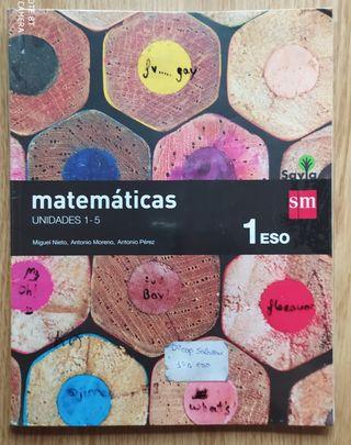 Libro de Matemáticas 1°ESO