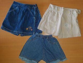 Lote 3 falda/ pantalon 18 meses
