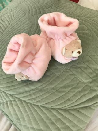 Zapatillas bebés 0-4 meses