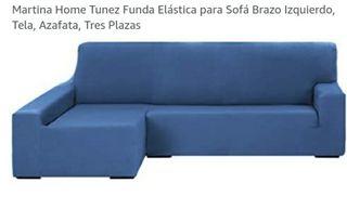 Funda elastica sofa chaise longue brazo IZQ