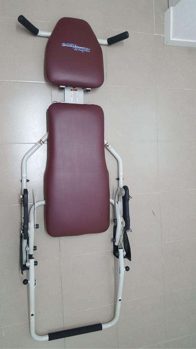 Easy shaper banco de abdominales, gluteo y pierna