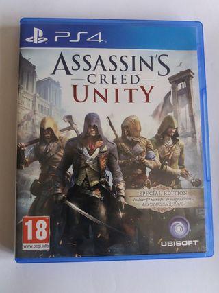 Assassin's creed unity para PS4