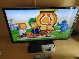 Televisor led 3D Panasonic Vieta 37 pulgadas