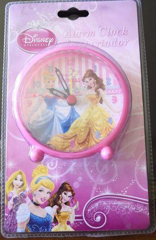 Reloj despertador princesas Disney