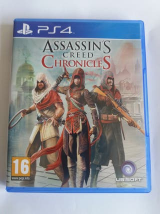 Assassin's creed chronicles para PS4
