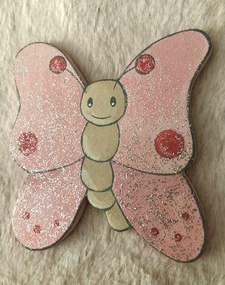 Mariposas decoración pared infantil