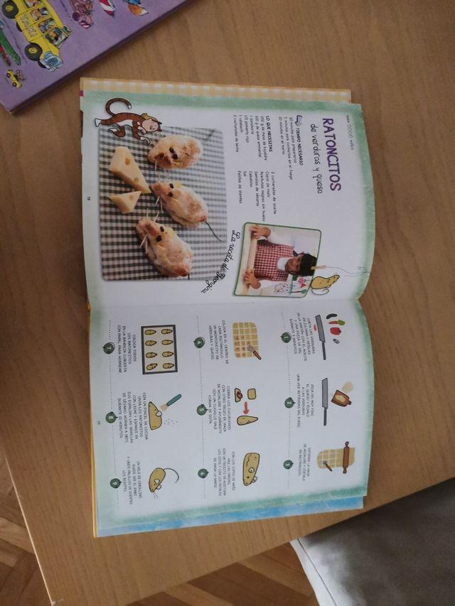 libro cocina niños
