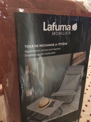 Lafuma tapicería Batyline para tumbona Transabed