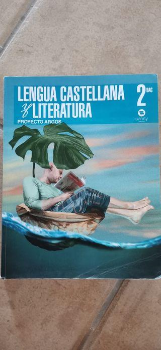 Lengua castellana y literatura 2°Bac