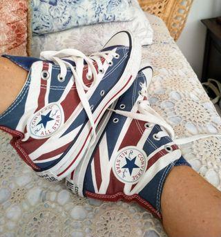 Zapatillas Converse All Star bandera UK