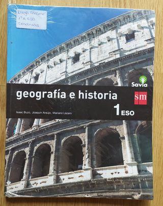 Libro de Geografía e Historia de 1°ESO