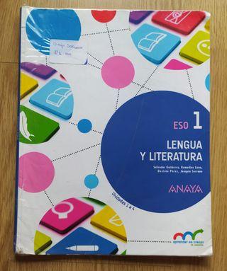 Libro de Lengua y Literatura 1°ESO