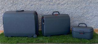 Pack de maletas duras Samsonite azul marino