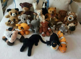 Lote 20 peluches