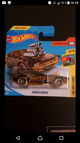 Rodger Dodger Art Cars Hot wheels
