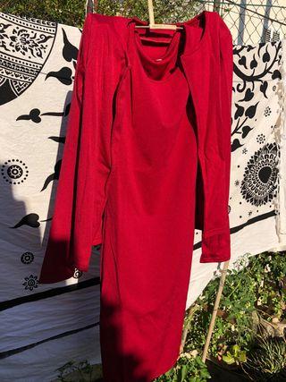 Conjunto chaqueta vestido
