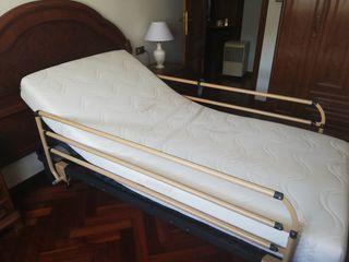 Cama articulada 90 cm + colchón