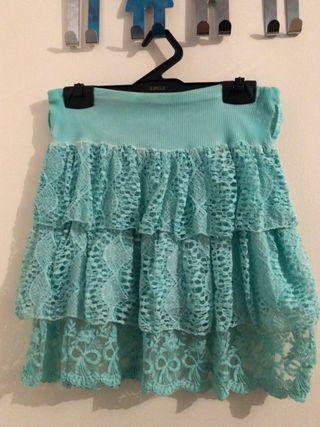 Falda de Volantes