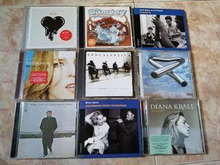 Lote cd jazz, clásica, instrumental,...