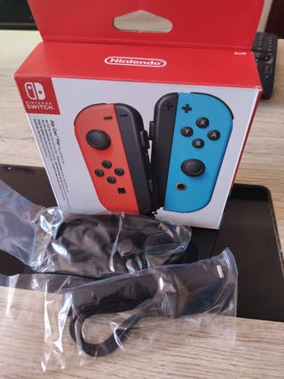 Correas negras Nintendo Switch