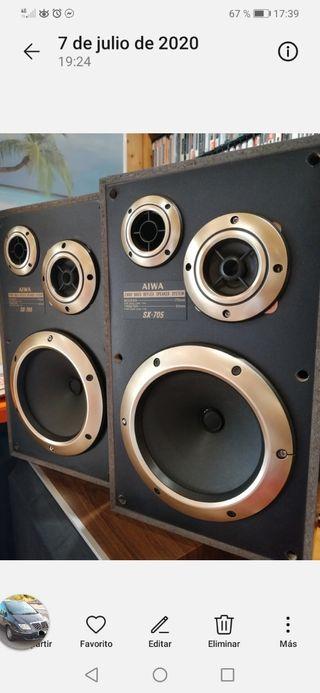 Altavoces Aiwa SX-705 Bass Reflex
