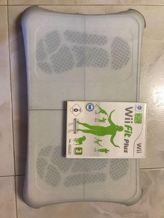 Plataforma Fitness Wii + protector + WiiFit plus