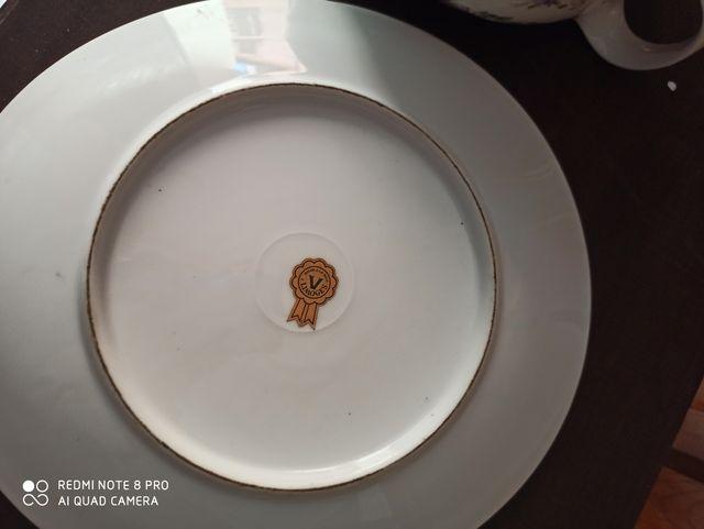 sopera mas plato de Limoges